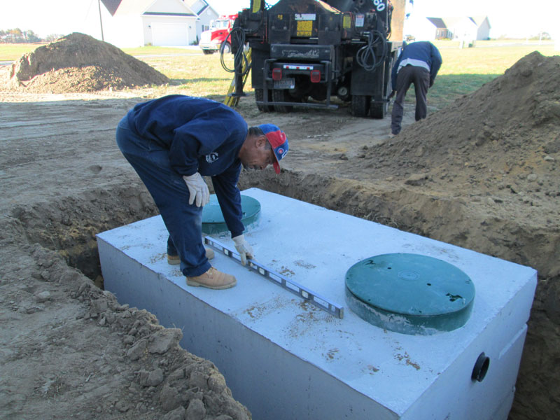 Midway services inc lincoln de septic system for Gravity septic